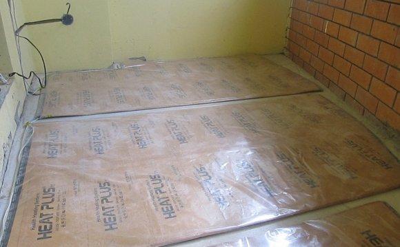 инфракрасный теплый пол под