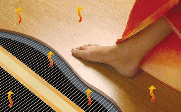 Электрический теплый пол под