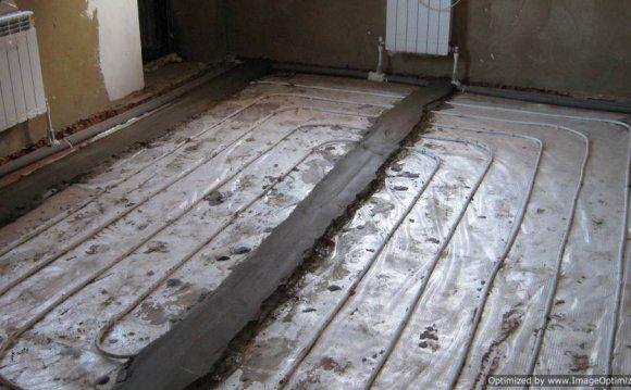 Для усиления теплоотдачи под