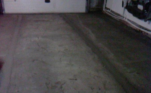 Cтяжка пола в гараже