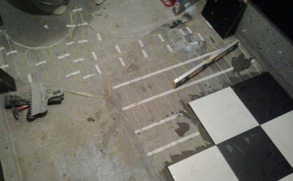 Теплые полы электрические (под