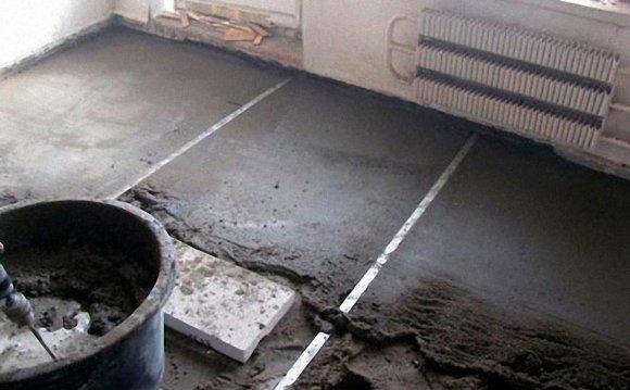 подготовка основания водяного